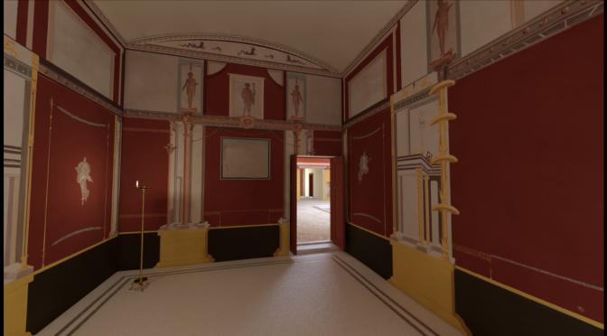 3D model of Casa di Nettuno ed Anfitrite, Herculaneum